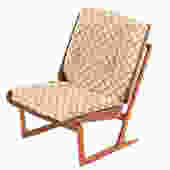 Grete Jalk Bent Plywood Lounge Chair