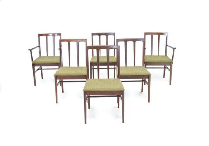 Mid Century Dining Chairs by A.Younger by SputnikFurnitureLLC