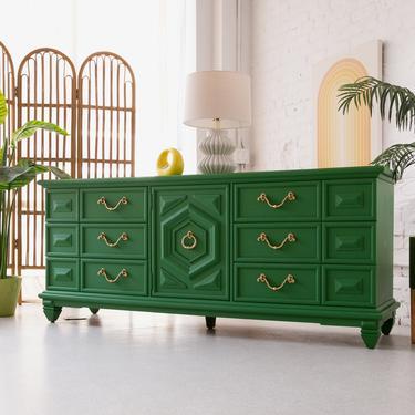 Green Regal Dresser by Thomasville