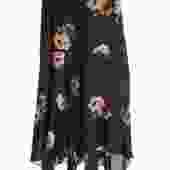 ALC Floral Wraparound Skirt
