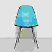 Vintage Aqua Blue Original Eames for Herman Miller Chair