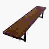 Danish Modern Rosewood Torbjorn Afdal Long Bench / Side Table