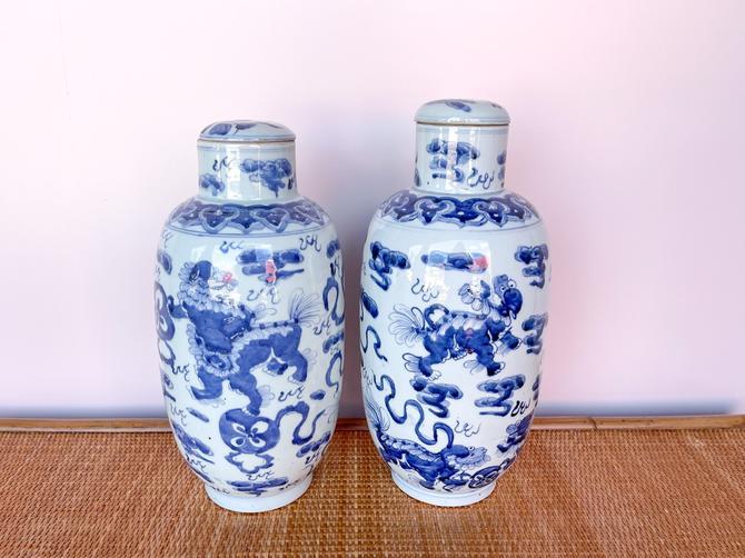 Pair of Ginger Jars