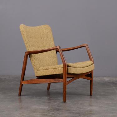 Mid-Century Kurt Olsen Lounge Chair Danish Modern Slagelse Model 215 by MadsenModern