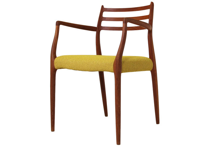 Danish Teak Chair by Niels Moller Model 62 by RetroPassion21