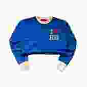 I ❤️ H ST. NE Crop Crewneck Sweatshirt (Royal Blue)
