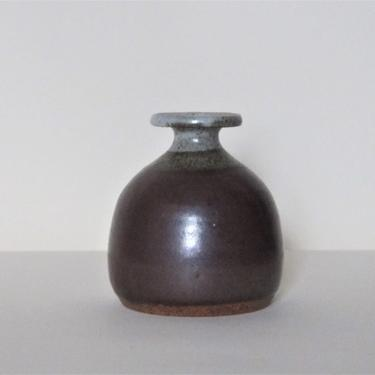 Stoneware Studio Pottery Vase, signed by ArtloversFinds