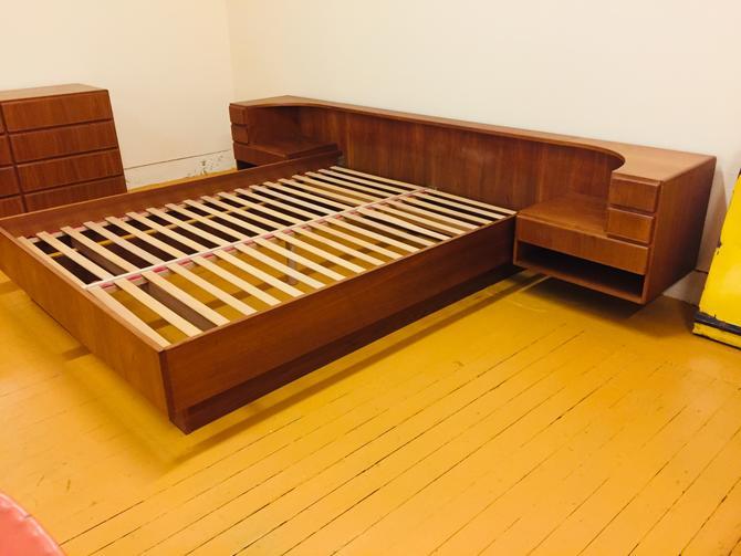 Komfort Danish Teak Platform Bed