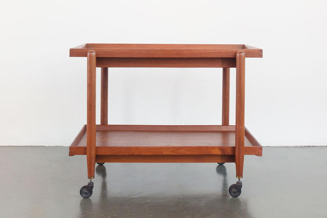 Mid Century Bar Cart by HomesteadSeattle