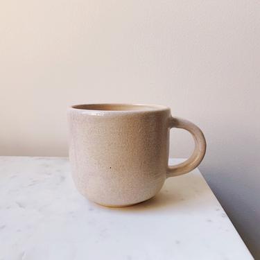 Pink Sea Salt Ceramic Mug // handmade pottery by mammothandminnow