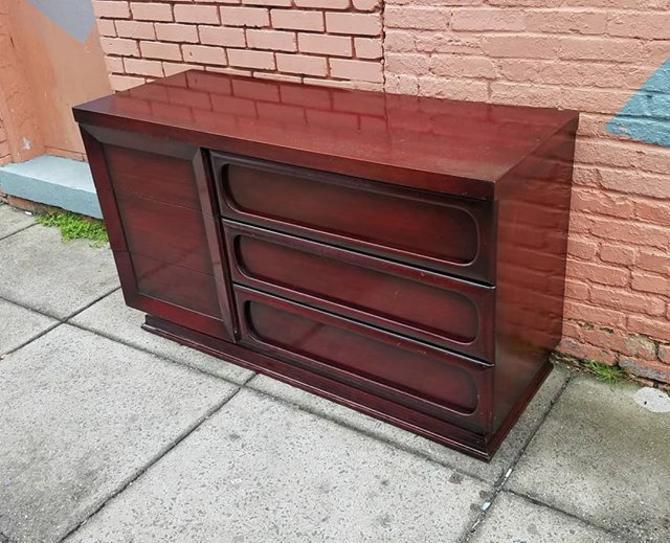 1950s Dresser, six Drawer, $286.