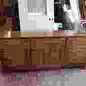 Lane low boy dresser w/ cool bamboo design 68
