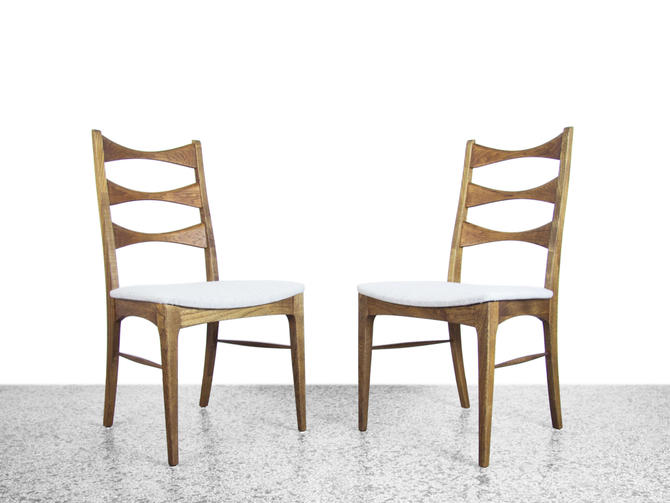 Pair of Broyhill Brasilia Dining Chairs - Mid Century Modern by JefferyStuart