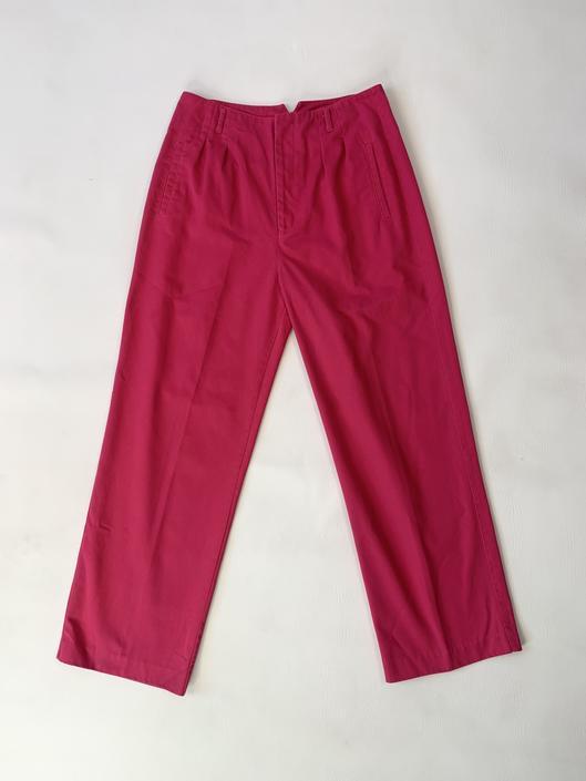 1980's Pleated Pink Slacks
