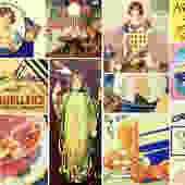 1930S Set of 12 Cookbooklets - Promotional Mini Cookbooks - Vintage Promotional Cookbooks | FREE SHIPPING by Bixley