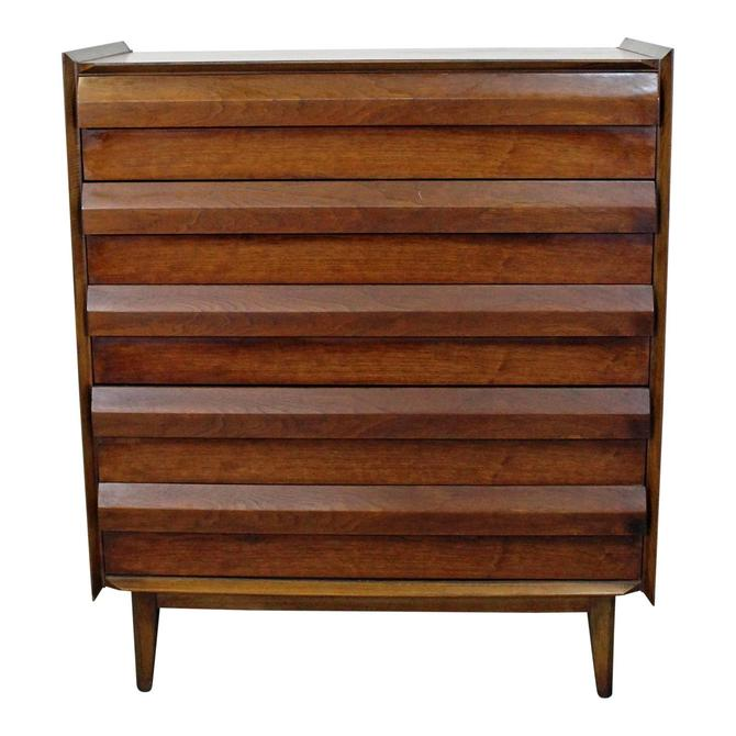 Mid-Century Danish Modern Lane First Edition Walnut Tall Chest/Dresser by AnnexMarketplace