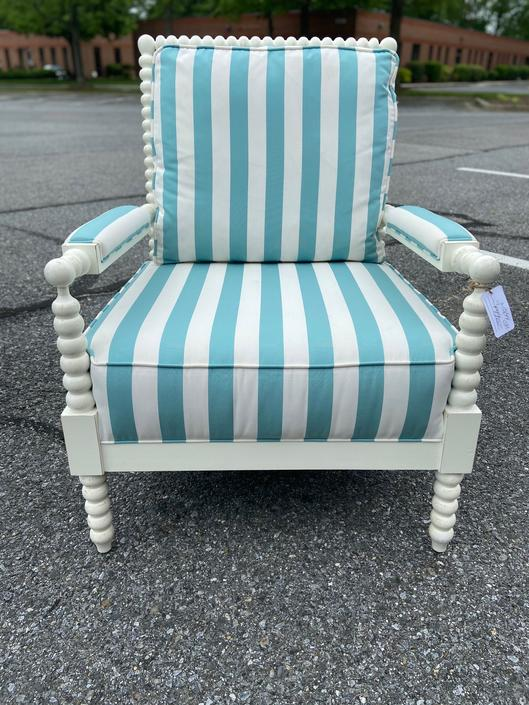 Fun Beach Cottage Vibe Chair