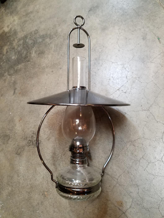 Newer oil lantern 11 (diam hood) x 18