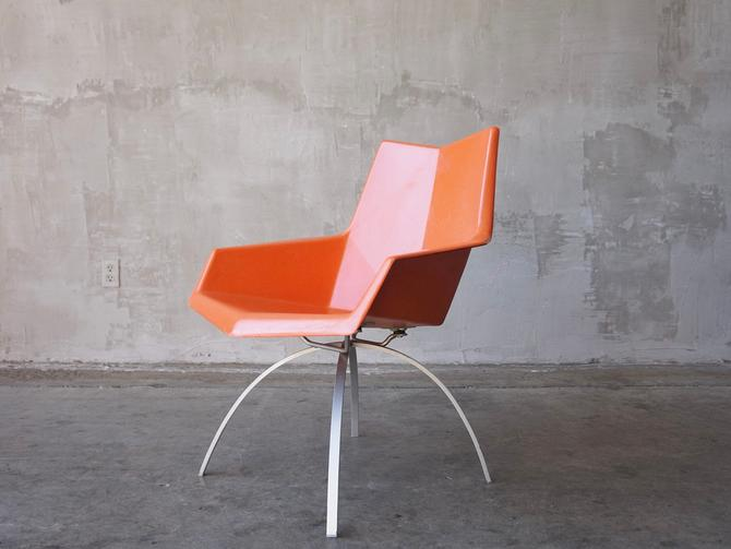 Paul McCobb 'Origami' Chair by FandFVintage