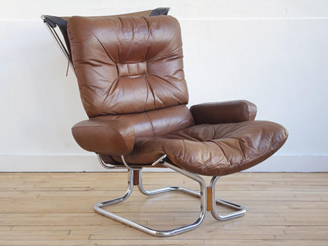 Westnofa Leather Lounge Chair