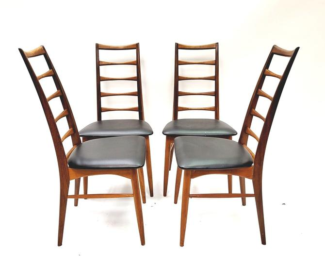Set of 4 Koefoeds Hornslet Dining Chairs