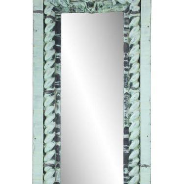 Antique Copper Lion Head Cornice Mirror 8 ft x 4 ft