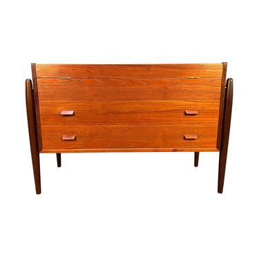 Vintage Danish Mid Century Modern Teak LowBoy Dresser - Console by AymerickModern
