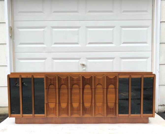 Brasilia Style Low Dresser, Brutalist Modern by secondhandstory