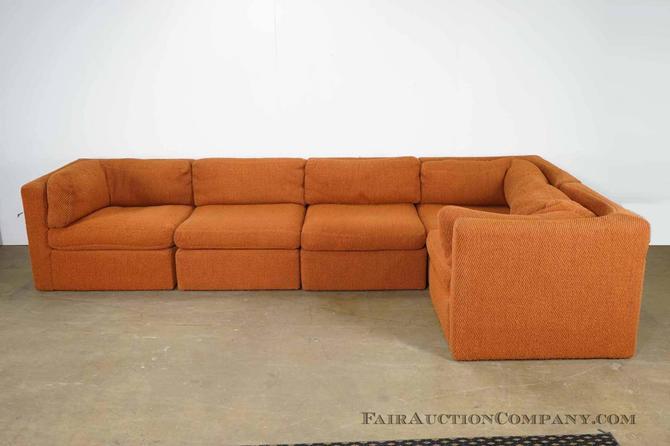 Milo Baughman For Thayer Coggin Sectional Sofa From Fair Auction Co