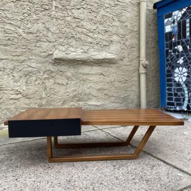 Mid century coffee table Danish modern coffee table mid century modern coffee table by VintaDelphia