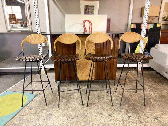 Arthur umanoff bar and barstools