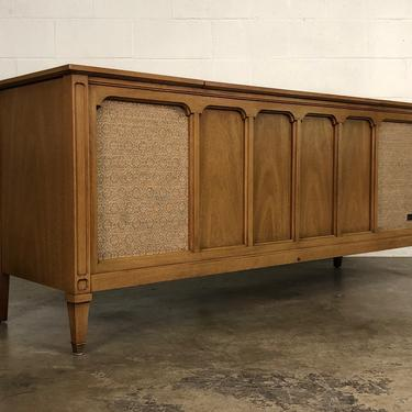 Zenith Mid-Century Traditional Stereo Console Model ML2675 ~ Great TV Stand by modernmidcenturyfurn