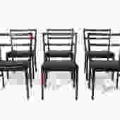 Johannes Andersen for Bernhard Pedersen and Sons Rosewood Dining Chairs - Set of 8