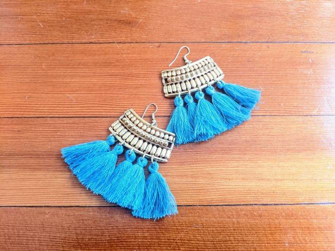 Tassel Earrings by BTvintageclothes