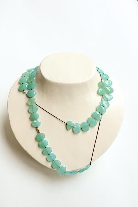 Caledonite Single Strand Necklace