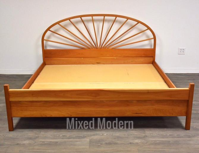 Cherry King Bed by Pompanoosuc Mills by mixedmodern1
