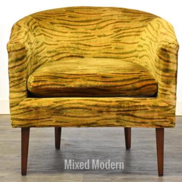 Paul McCobb Style Barrel Lounge Chair by mixedmodern1
