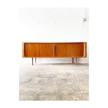 Bernhard Pedersen Danish Modern Credenza or Console Media Cabinet by FlipAtik
