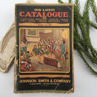 Vintage Johnson Smith & Company Catalog No. 140, From Around 1929, Novelties, Racine Wisconsin by luckduck
