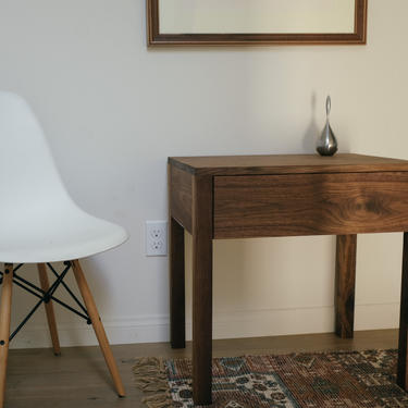 Modern Side Table w/ Drawer. Solid Wood Modern End Table. Nightstand. Mid Century Nightstand. Small Accent Table. Bedside Table. Sofa Table. by abdobuilds