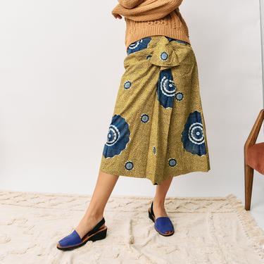 Ulla Johnson Printed Midi Skirt, Size 8