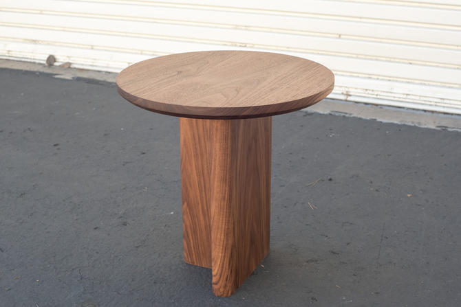 Hartford Solid Walnut End Table | Mid-Century Modern Coffee End Table by ADCOWoodWorks