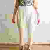 Dolce & Gabbana Cuffed Hem Trousers, Size 40