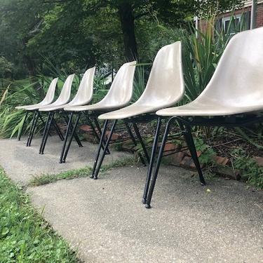 Eames Style Fiberglass Chairs ($140 per pair)