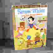 Snow White Big Golden Book - 1971 - Disney Snow White Golden Book - Vintage Disney - Vintage Snow White     FREE SHIPPING by Trovetorium
