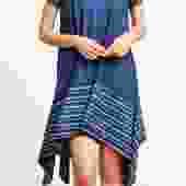 Iris Handkerchief Hem Dress