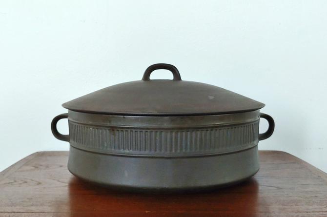 Vintage Dansk Flamestone 5 Quart Casserole Dish w Lid by ModandOzzie