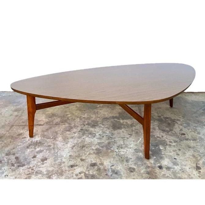 Mid Century Triangular Coffee Table