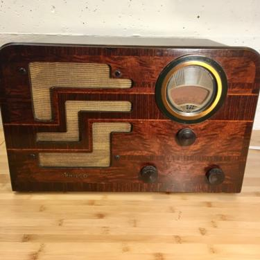 1938 Philco AM Shortwave Table Radio 38-62T, Nicely Playing by Deco2Go
