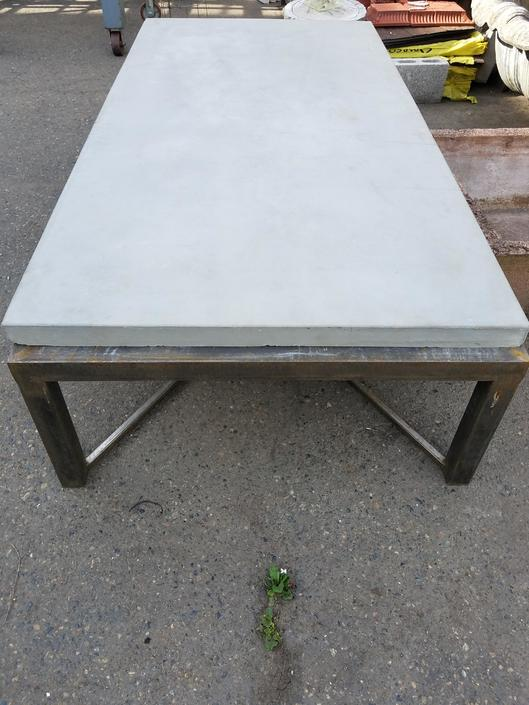 Concrete and Steel Table